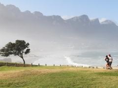 På väg ut från Kapstaden mot Godahoppsudden och Cap Point.