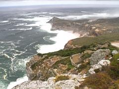 Vi kör längs kusten mot Cape Point.