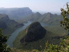 Blyde River Canyon i strålande solsken!