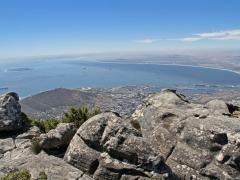 Kapstaden från Taffelberget. Cape Town.