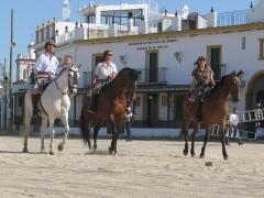 El Rocio är en av Spaniens mest särpräglade städer med en atmosfär som hämtad från en vilda västernfilm.